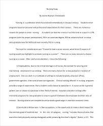 essay writing samples nursing essay writing example