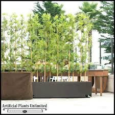 faux trees for outdoors artificial bamboo resistant outdoor trees outdoors fake palm trees for patio faux outdoor trees