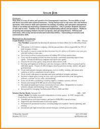 Realtor Resume Sample Realtor Resume Example Examples of Resumes 33