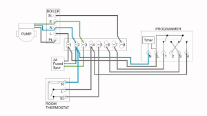 central heating electrical wiring part 3 y plan youtube Digital Wire at Heatmiser Uh8 Rf Wiring Diagram