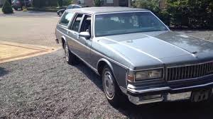 Chevrolet Caprice Classic wagon 1989 - YouTube