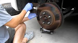 Change Toyota Sienna 2006 brake pads in 8 minutes!! - YouTube