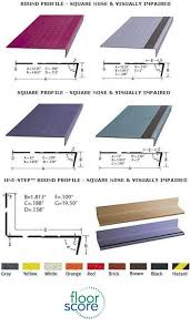 burke rouleau stair system rubber tile treads and risers