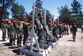 pull ups during basic training