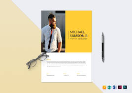 19 Resume Templates Examples In Apple Pages Examples