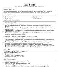 Job Resume Samples 5 Robertmcfarland Capture Sample Objective ...