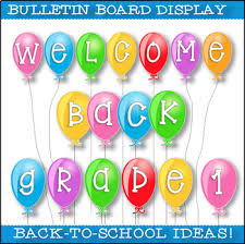 Welcome Back To School Grade 1 Welcome Banner Print And Go Tpt