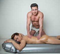 Erotic male massage therapist