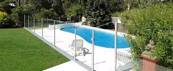 semi frameless glass pool fencing sydney 4