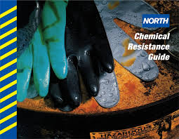 Butyl Glove Chemical Resistance Chart Chemical Resistance Guide For North Safetys Chemical
