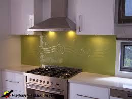 Kitchen Splashback Yellow Kitchen Splashback Wathaurong Glass