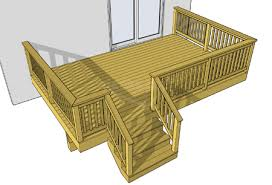 diy wooden deck designs. this one level deck is an easy to build and economical choice. you may re-position the stairs adjust height suit your needs. diy wooden designs