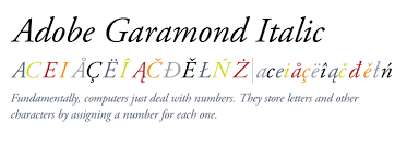 Download Garamond Adobe Garamond Italic Fonts Com