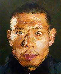 all images and art copyright chuck close