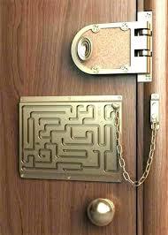 Front Door Security Lock Easy To Install Door Guardian Security Door