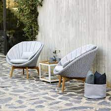 cane line peacock lounge chair