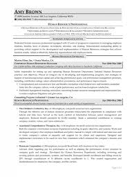 Hr Resume Examples Interesting Mba Hr Fresher Resume Sample With