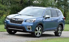 Subaru Forester Light Blue Review The Redesigned 2019 Subaru Forester Is An Suv You