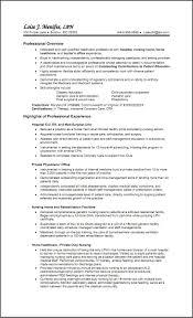 Examples Of Lpn Resumes Free Resume Templates For Lpn Nurses Nursing Resume