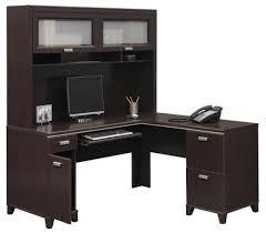 Image of: Corner Desk Hutch and Storage