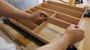how to make a silverware organizer 0005