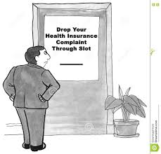 Health Insurance Complaint Stock Illustration Illustration Of