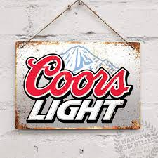 Coors Light Is The Best Coors Light Replica Vintage Tin Sign Metal Sign Tin Sign 7 8x11 8 Inch