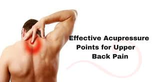 Top 7 Acupressure Points For Upper Back Pain Arenatic