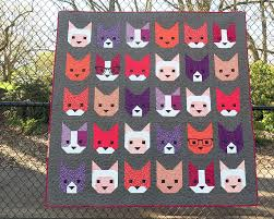Quilt Patterns Gorgeous Patterns by Elizabeth Hartman THE KITTENS pdf quilt pattern