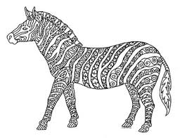 In this site you will find a lot of coloring pages in many kind of pictures. Zebra Zentangle Coloring Page By Pamela Kennedy Tpt