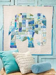 Best 25+ Elephant quilt ideas on Pinterest | Elephant quilts ... & Scrap Happy Quilting Adamdwight.com