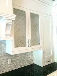 frosted glass kitchen cabinet doors within door panels inserts image remodel 15