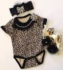 Baby girl cheetah clothes