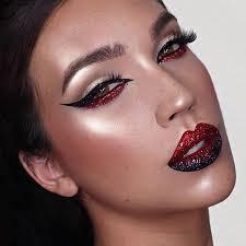 pretty devil makeup look