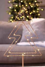 and contemporary decorating rose gold wire tree