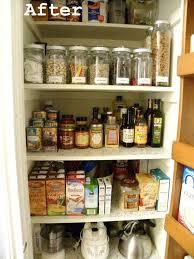 organizing a small pantry
