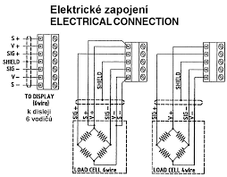 load cell cable wiring diagram load auto wiring diagram schematic junction box and load cell cable acc 89xxx utilcell on load cell cable wiring diagram