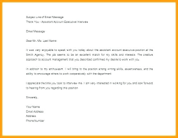 Job Interview Follow Up Email Professional Thank You Letter For Job Interview Examples