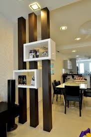 Living Room Display Cabinets Great Use Of A Wood Partition For Boxes Display Units