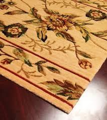 botanical bo01 beige fl carpet stair runner