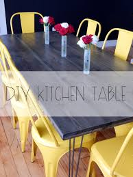 Diy Kitchen Table Diy Dining Table Mrs Amber Apple