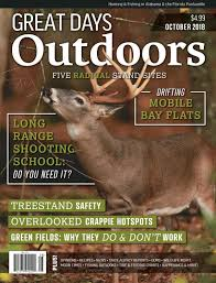 Great Days Outdoors October 2018 By Trendsouth Media Issuu
