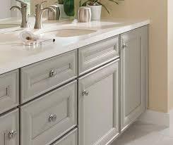gray cabinets bathroom. grey rothshire cabinets in casual bathroom gray o