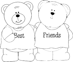 Bff Coloring Pages With Best Friend Printable And Gamz New Best