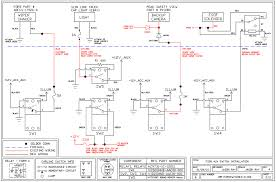 f auxiliary switch install here s the schematics for the auxiliary power and the switches