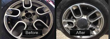 recent diamond cut alloy repairs