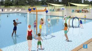 pool splash. Pool Splash