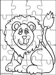 Small Picture Printable jigsaw puzzles to cut out for kids Animals 271 Coloring