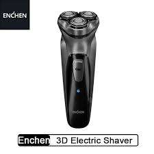 <b>Enchen Black Stone</b> 3D Electric Shaver Type-C Rechargeable ...
