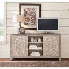 home decorators collection chennai grey wash storage entertainment